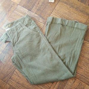 Level 99 flare corduroy pants